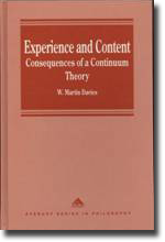 Experience and Content Cover